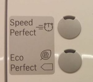 Bosch Eco und Speed Perfect Schalter
